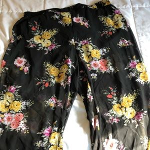 TORRID Pants with shorts